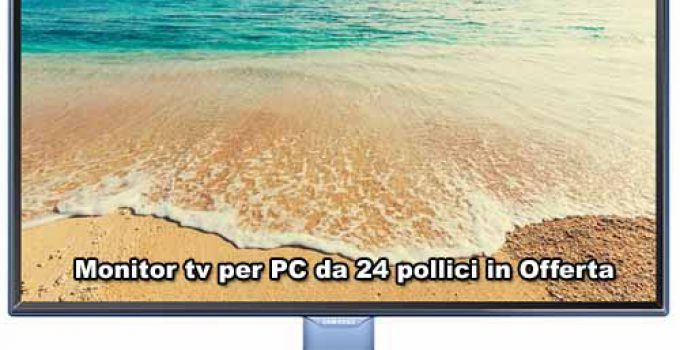 monitor tv per pc